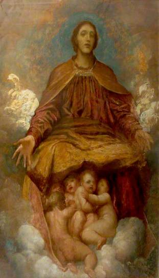 The Spirit of Christianity by George Frederic Watts