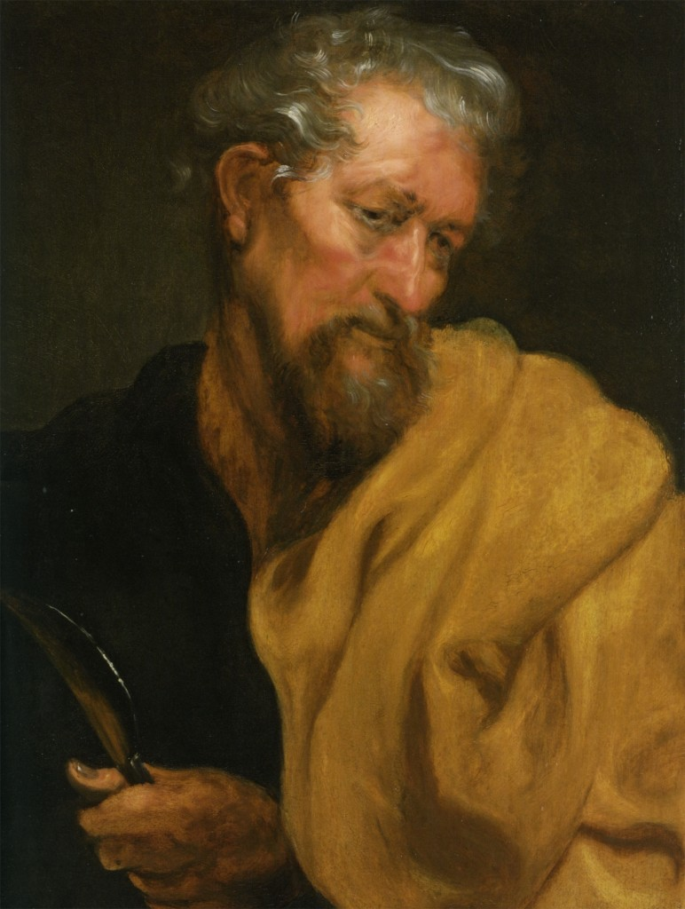 Saint Bartholomew by Anthony Van Dyck