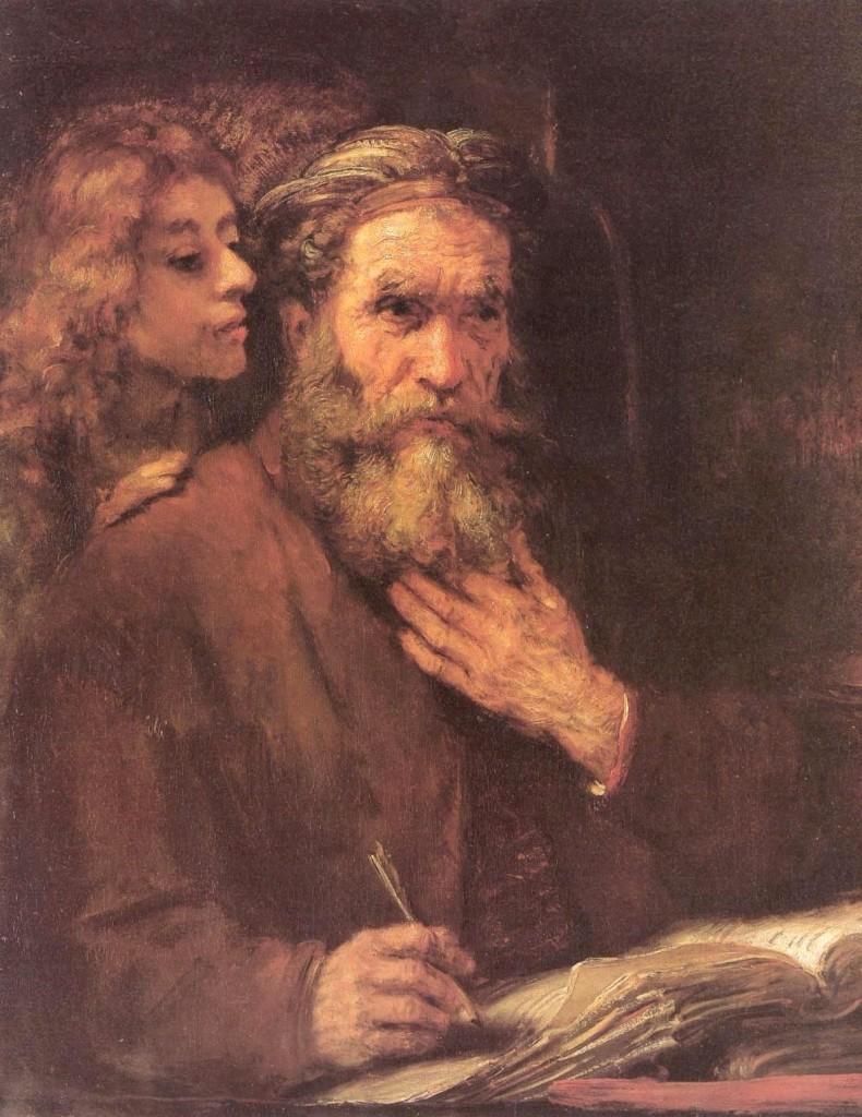 The_Evangelist_Matthew_Inspired_by_an_Angel