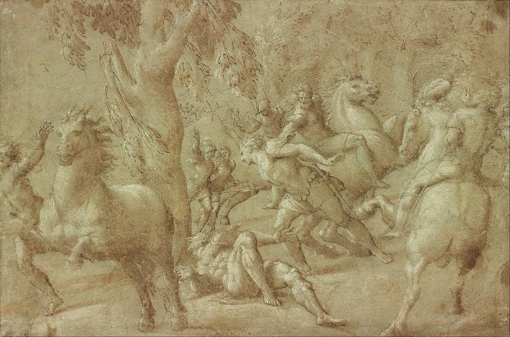 Giovanni_Antonio_de_Sacchis_(Il_Pordenone)_-_Conversion_of_St._Paul_-_Google_Art_Project